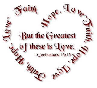 Die Liefde Is Geduldig Die Liefde Is Vriendelik Dit Is Nie Afgunstig