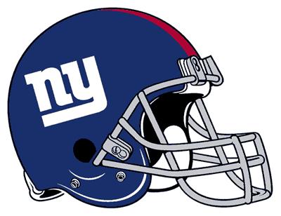 NY Giants Football Clip Art