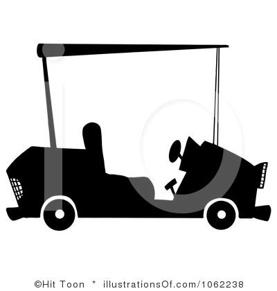 Golf Cart Clipart - Clipart Suggest