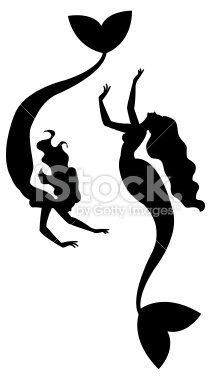 Mermaid Clipart Silhouette   Clipart Panda   Free Clipart Images