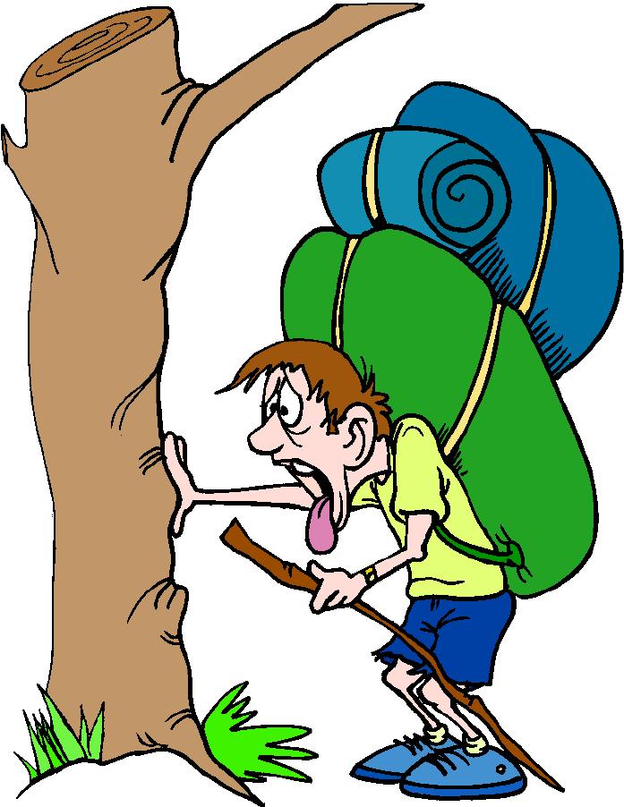 Hiker Cartoons Clipart - Clipart Kid