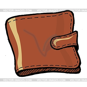 Wallet   Royalty Free Vector Clipart