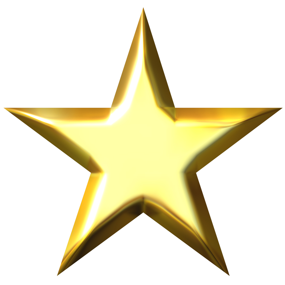 Gold Christmas Star Clipart - Clipart Suggest