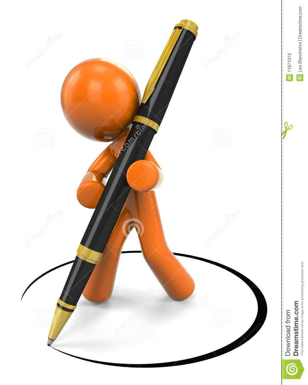 Happy Cartoon Pen Clipart - Clipart Kid