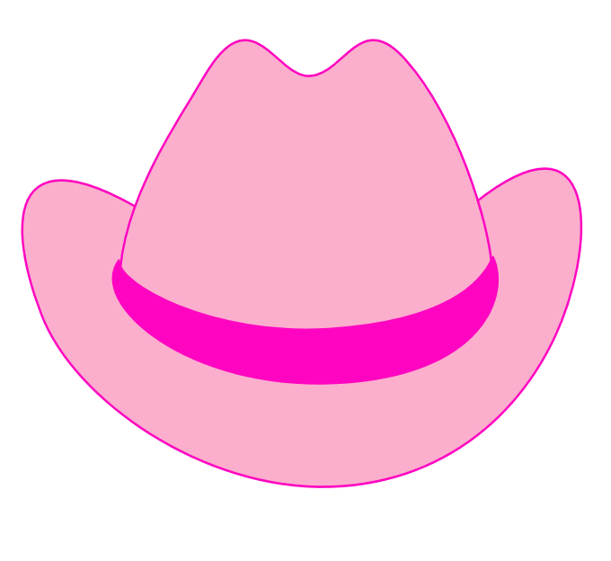 Pink Hat Clipart - Clipart Suggest