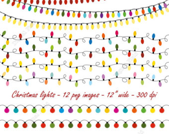 And Download Our Collection Of Christmas Lights Clip Art Wallpapers