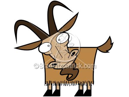 Cartoon Goat Clipart - Clipart Kid