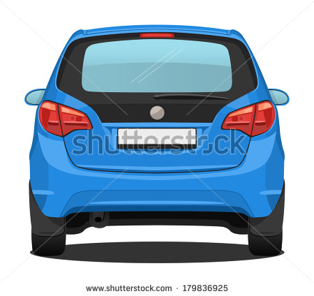 Car Rear Stock Photos Images   Pictures   Shutterstock