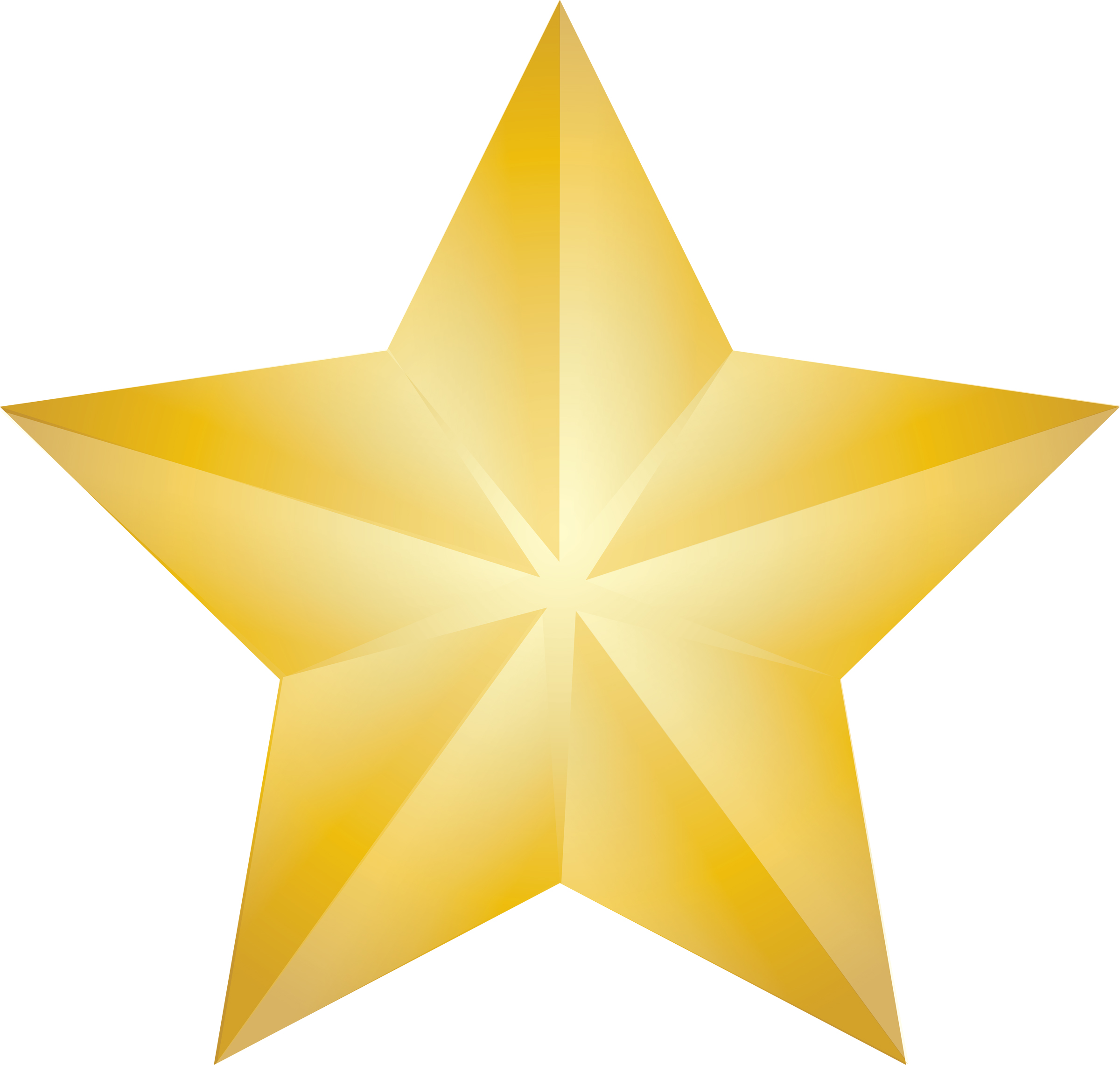 Gold Christmas Star Clipart - Clipart Kid