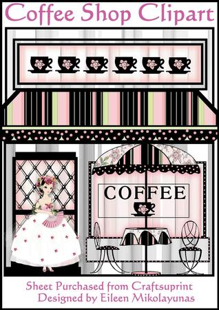 Coffee Shop Clipart   Designer Resources