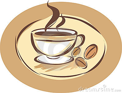 Coffee Shop Label Stock Photography   Image  7027532