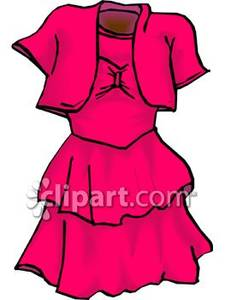 Party Dress Clipart - Clipart Kid