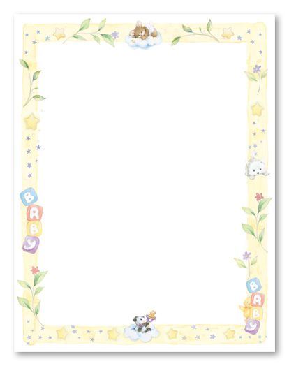 baby border for word clipart clipart suggest handprint vector png hand print vector image