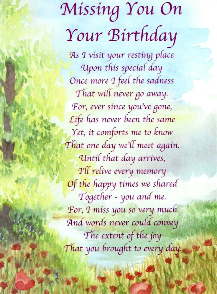 Happy Birthday To My Dad In Heaven Poems   Always In Our Thoughts More