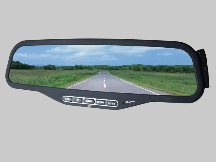 Rear View Mirror Hands Free Car Kit Bluetooth Hands Free Car Kit