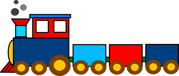 Train Clip Art At Clker Com   Vector Clip Art Online Royalty Free
