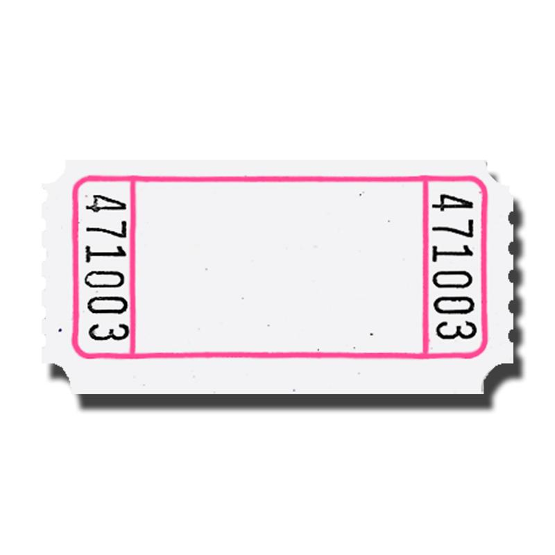 Blank Raffle Ticket Stub Clipart   Free Clip Art Images