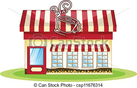 Coffee Shop In    Csp11676314   Search Clipart Illustration Drawings