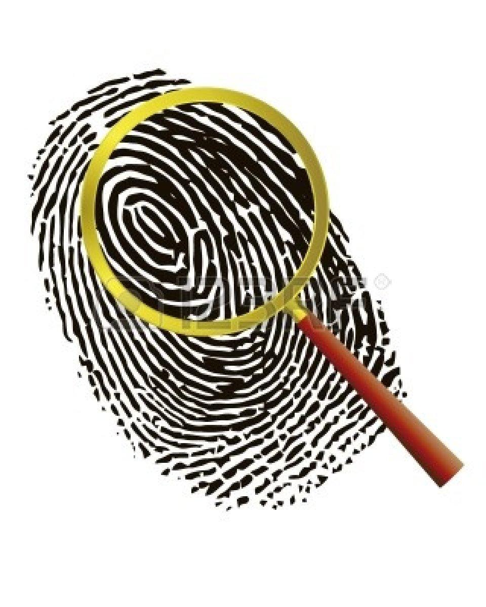 Image result for fingerprint clipart
