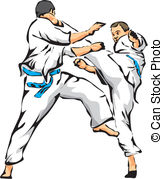 Karate Fight   Unarmed Combat   Karate Kick Combat Sport