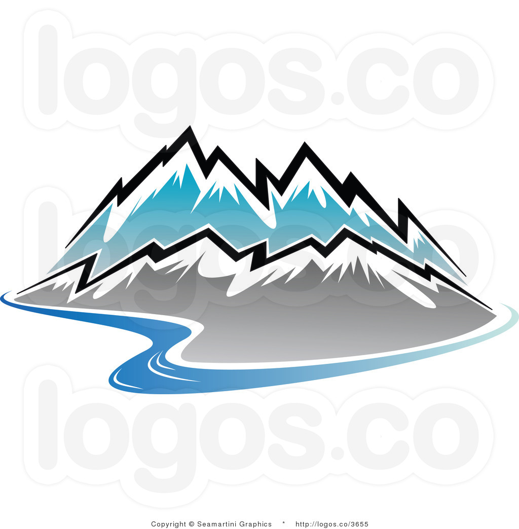 Mountain River Clip Art Black And White   Clipart Panda   Free Clipart