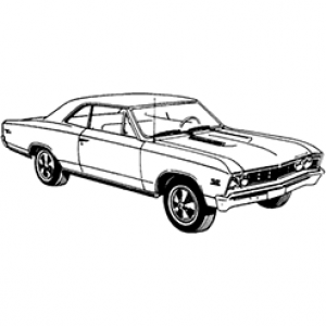 1967 Chevelle Cliparts