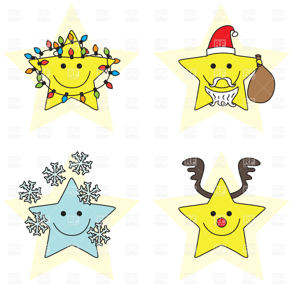 Christmas cartoon characters clipart suggest