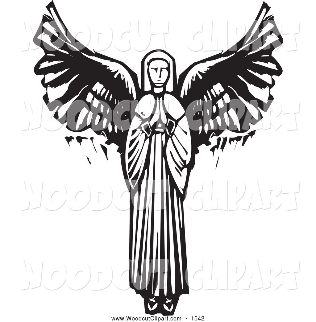 Praying Angel Clipart Clipart Suggest