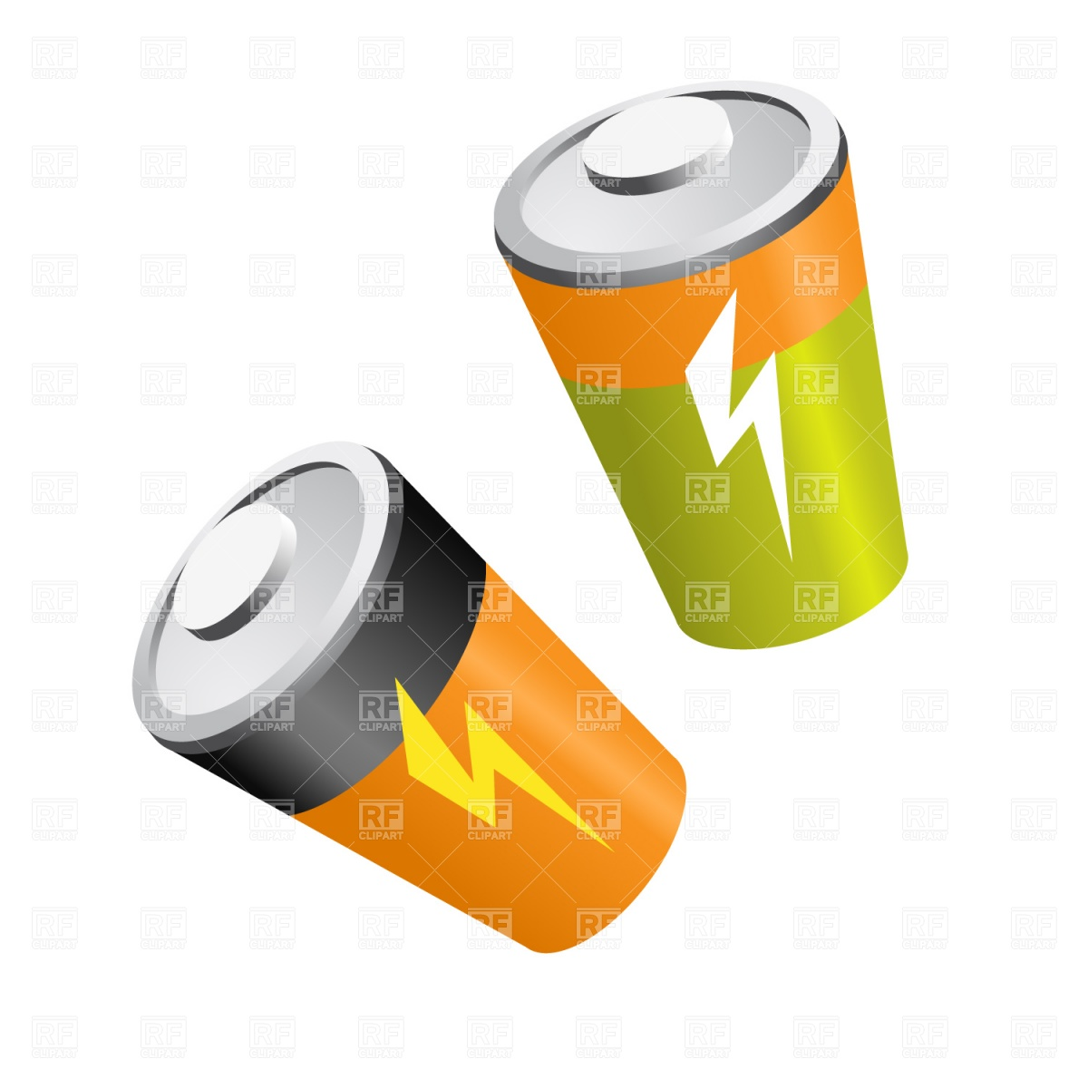 Battery Recycle Clipart
