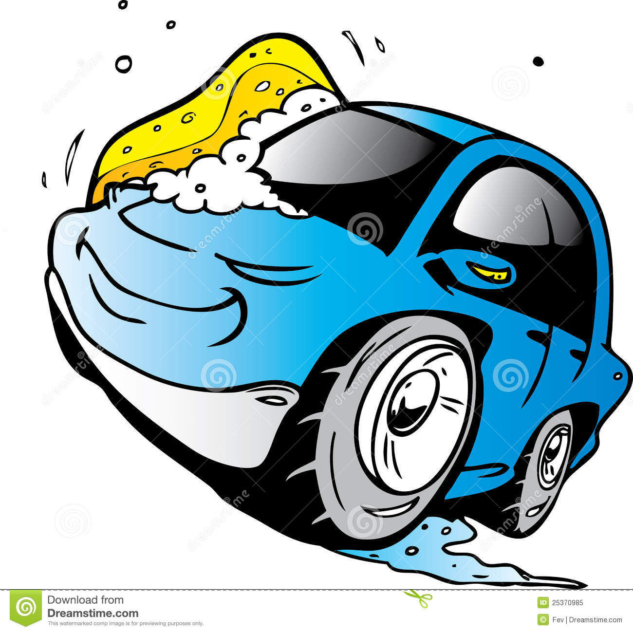 free cartoon car wash clipart - photo #48