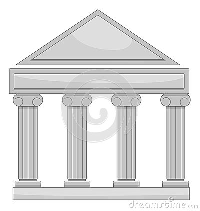 Courthouse Stock Illustrations Vectors   Clipart    1122 Stock