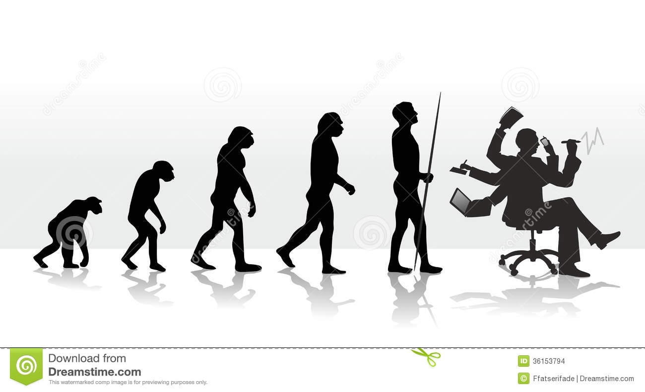 Human Evolution Ending With Stress At Work
