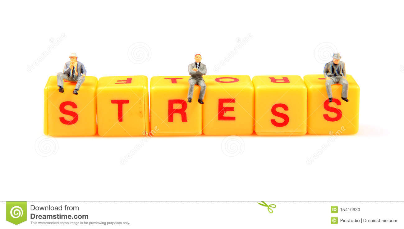 Stress Management Stock Photo   Image  15410930