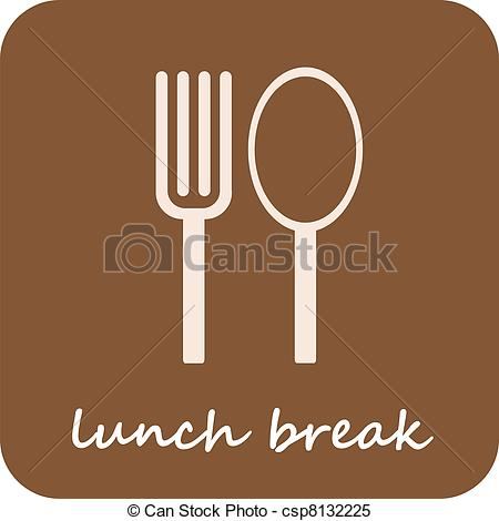 Vector   Lunch Break   Isolated Vector Icon   Stock Illustration