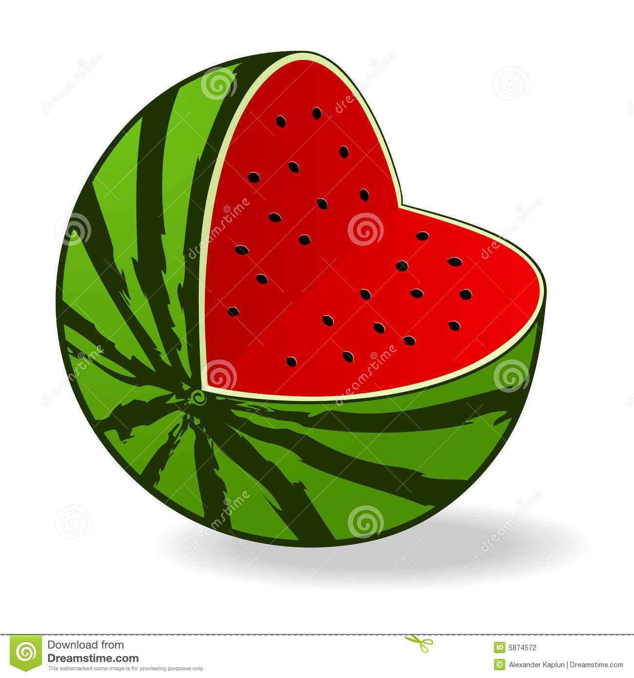 Watermelon Cartoon Clipart - Clipart Suggest