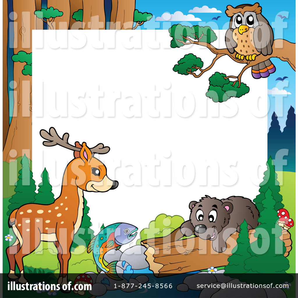 Wildlife Clipart  1067057   Illustration By Visekart