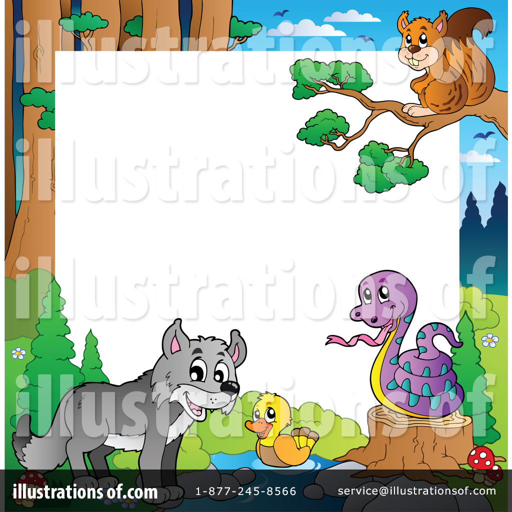 Wildlife Clipart  1067058 By Visekart   Royalty Free  Rf  Stock