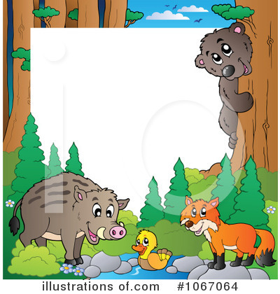 Wildlife Clipart  1067064 By Visekart   Royalty Free  Rf  Stock