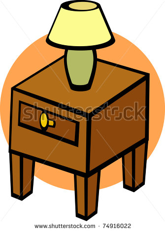 Table Night Stand Clip Art