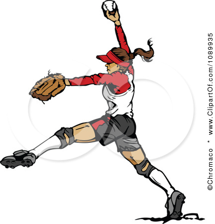 Displaying  20  Gallery Images For Softball Pitcher Clipart