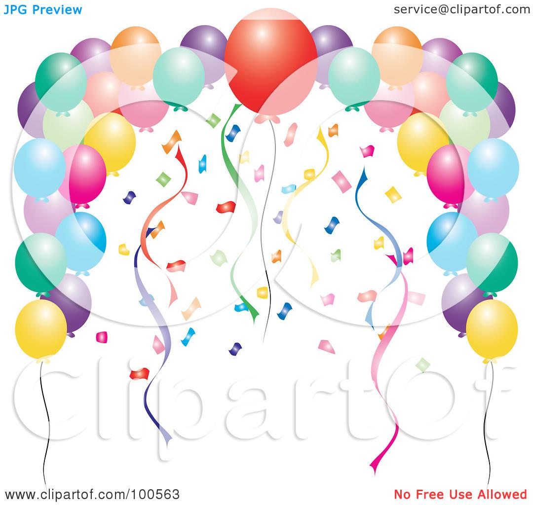 new years balloons clip art - photo #30