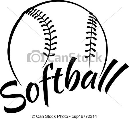 Softball Ball Clipart   Clipart Panda   Free Clipart Images