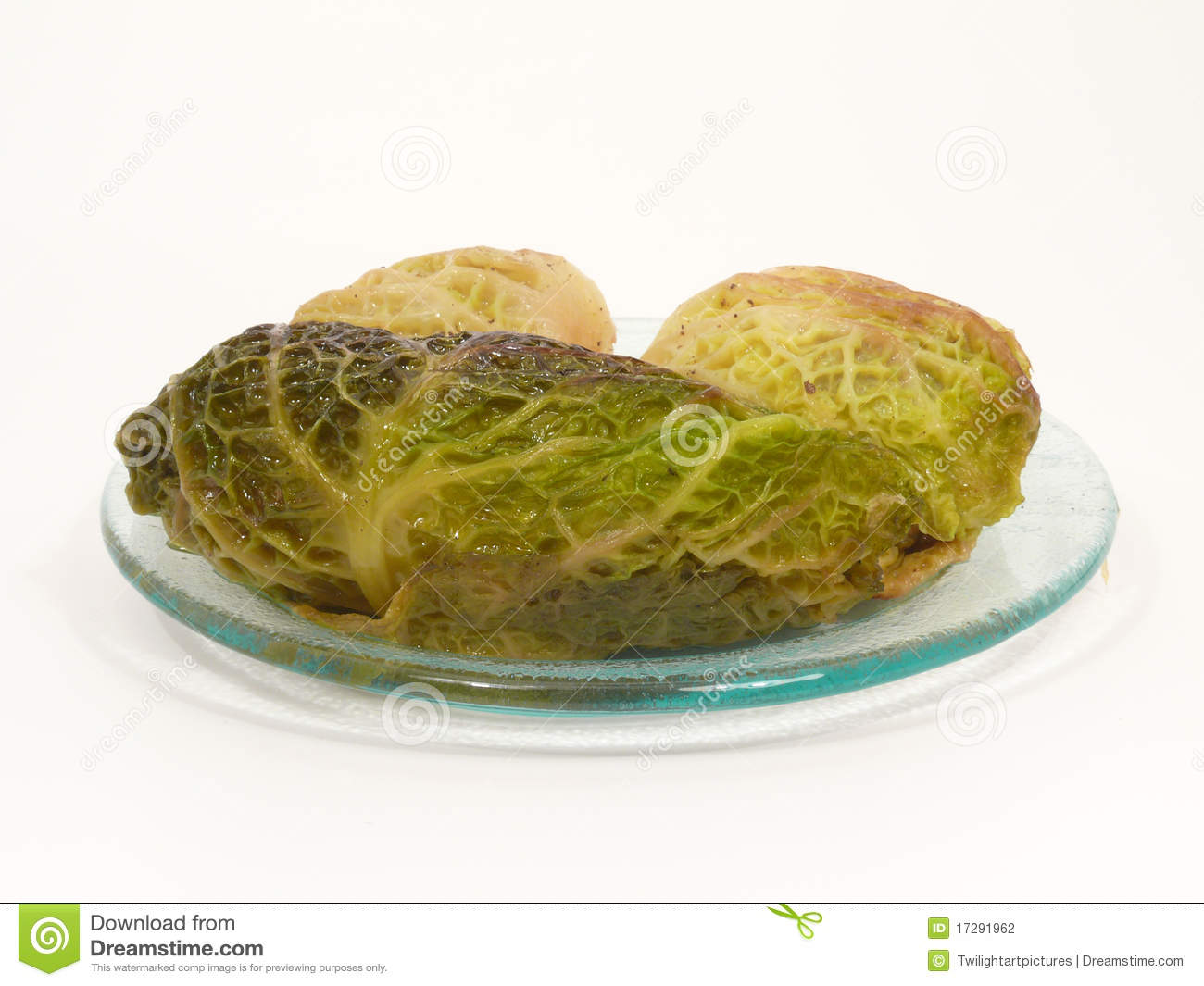 Stuffed Cabbage Rolls Stock Photography   Image  17291962