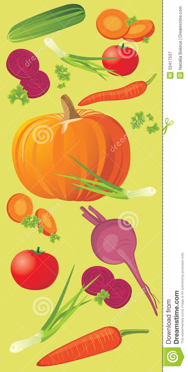 Vegetable Vertical Banner Royalty Free Stock Photography   Image