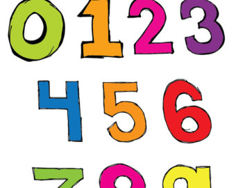 Basic Numbers Clipart Set   Clipart Panda   Free Clipart Images