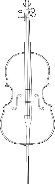 Cello Clip Art At Clker Com   Vector Clip Art Online Royalty Free
