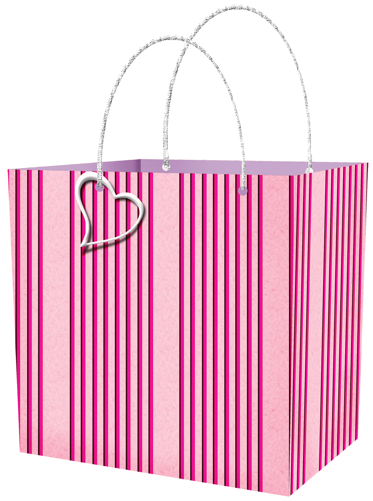 Christmas Gift Bag Clipart Pink Gift Bag Clipart Png