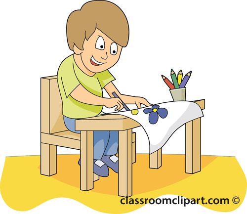 Classroom Clipart Black And White   Clipart Panda   Free Clipart