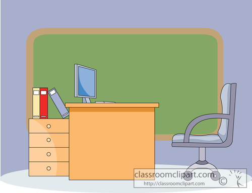 Orange Chair For Teachers Clipart Clipart Suggest