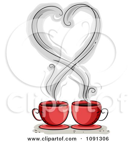 coffee clip art heart � cliparts
